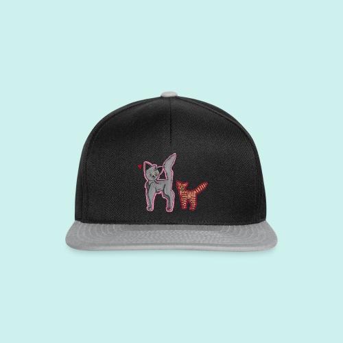 cat and kitten - Snapback Cap