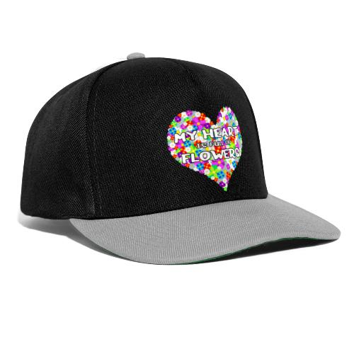My Heart is full of Flowers - Snapback Cap