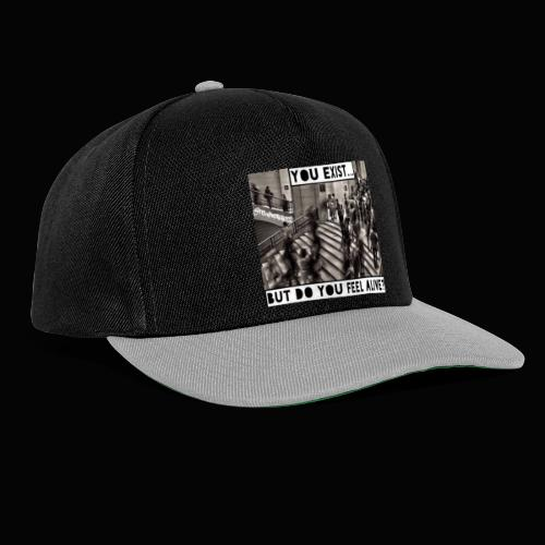 You Exist? Truth T-Shirts!! @realness112 #WakeUp - Snapback Cap