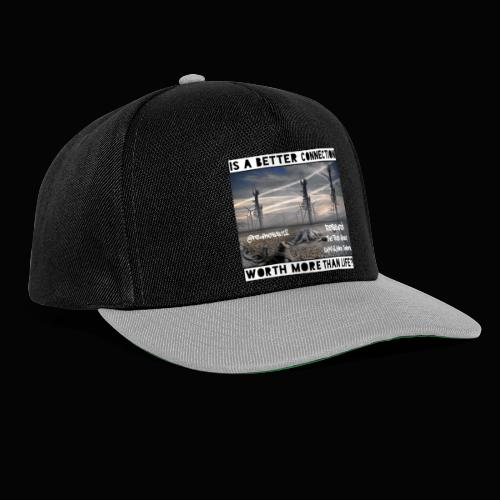 Better Connection? Truth T-Shirts!!! #5G #Research - Snapback Cap