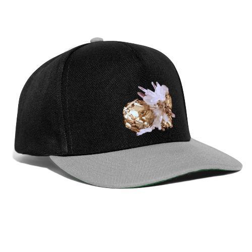 Pyrit Quarz Mineral Kristall Katzengold - Snapback Cap