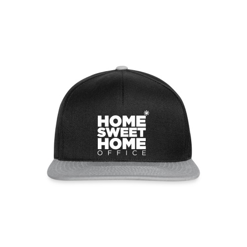 home sweet homeoffice - Snapback Cap