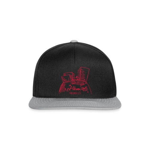 Freundelogo red - Snapback Cap