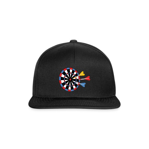 Dartboard with Darts - Snapback cap