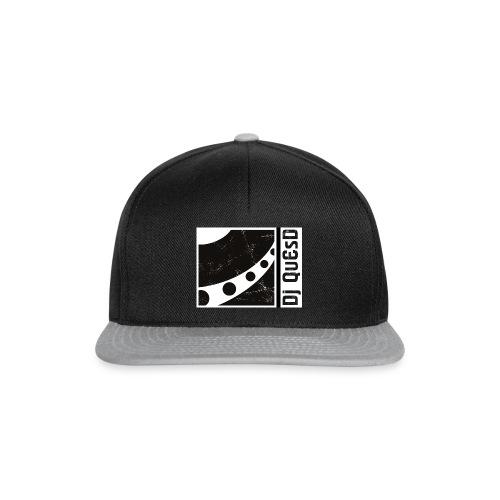 DJ QuEsD Logo - Snapback Cap