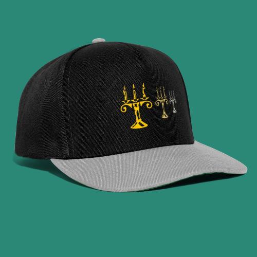 edles Kerzenlicht - Snapback Cap