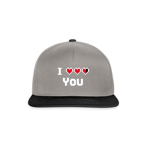 I pixelhearts you - Snapback cap