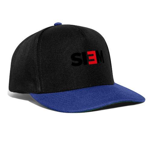 siem_zwart - Snapback cap