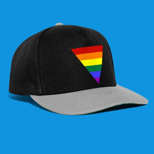 Pride Triangle pocket tank - Snapback Cap
