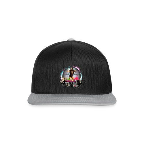 Chica_electro_music-png - Gorra Snapback