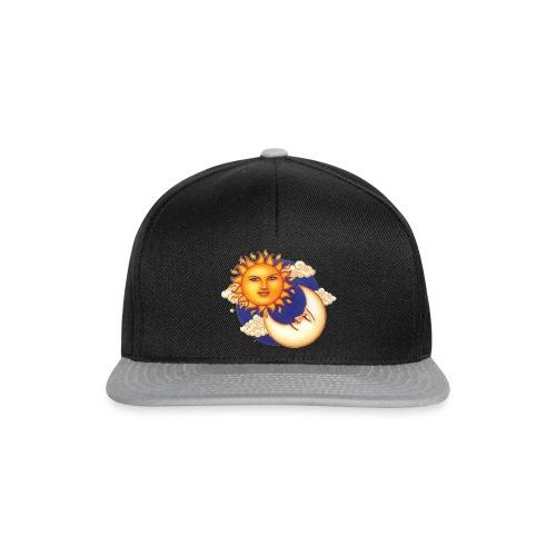 Sun and moon - Snapback cap