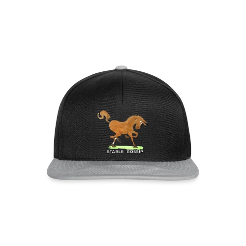 Stable Gossip by Joanna Fisher - Snapback Cap