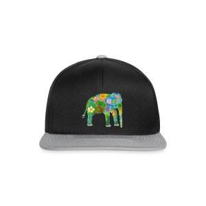 Asiatischer Elefant - Snapback Cap