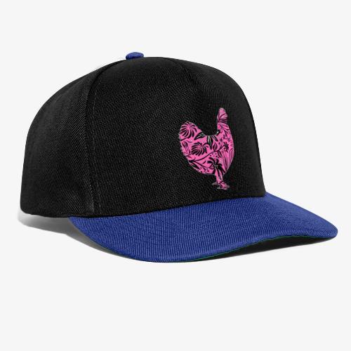 Flower Chicken IV - Snapback Cap