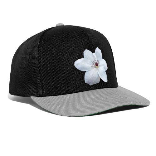 Jalokärhö, valkoinen - Snapback Cap