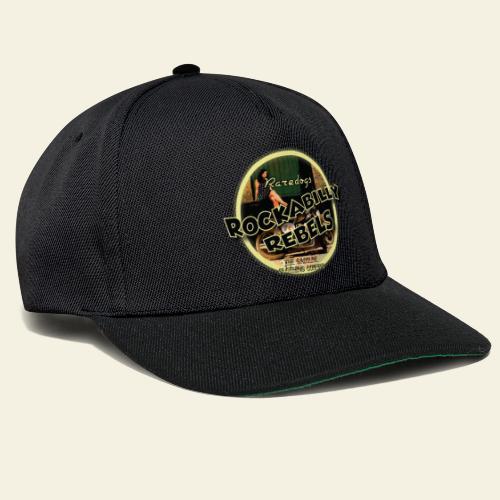 rockabilly rebels pinup - Snapback Cap