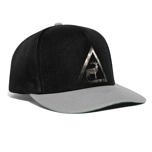 Mystical Forest Deer Triangle - Snapback Cap