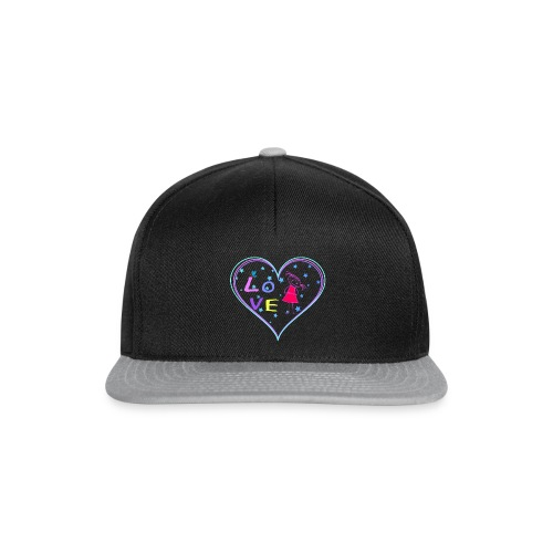 the heart of love - Snapback Cap
