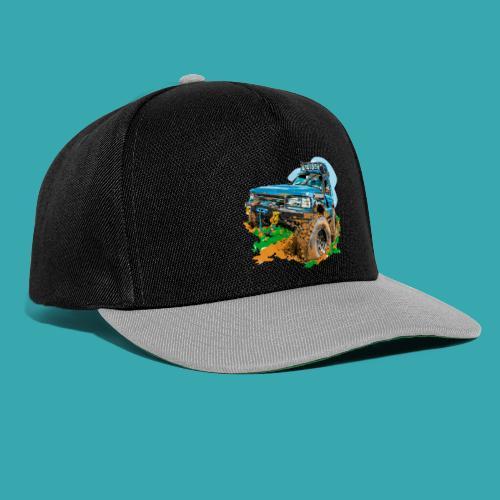 Big Blue - Snapback Cap