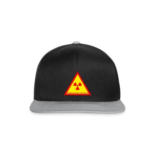Achtung Radioaktiv Russisch - Snapback Cap