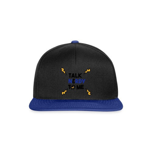 Talk nerdy to me3 1 outlines - Snapback cap