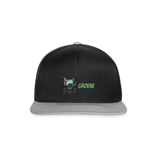 0195 Boer verstand F - Snapback cap