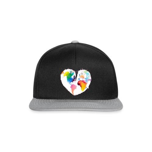 Ich bin als Pfadfinder meines Herzens unterwegs - Snapback Cap