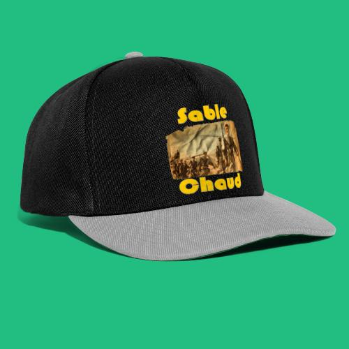 sable chaud6 - Casquette snapback