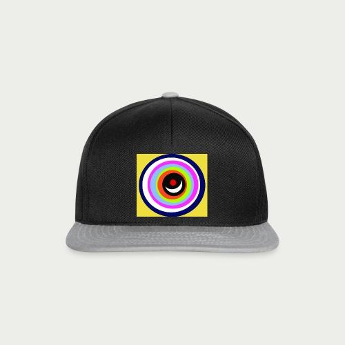 Maske Farbkreise Clownnase - Snapback Cap