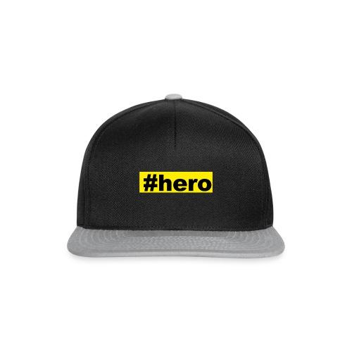 #hero - Snapback Cap