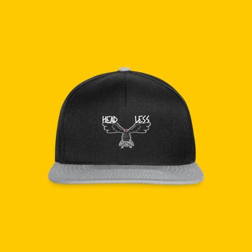 WHITE HEADLESS BIRD - Snapback Cap