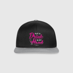 JGA - PUT drink in mano - Snapback Cap