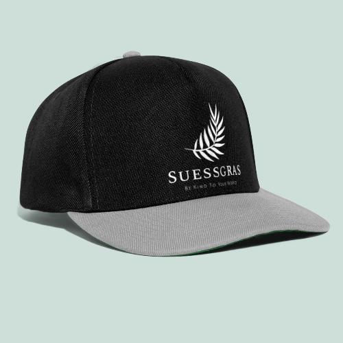 SUESSGRAS WHITE LEAF - Snapback Cap