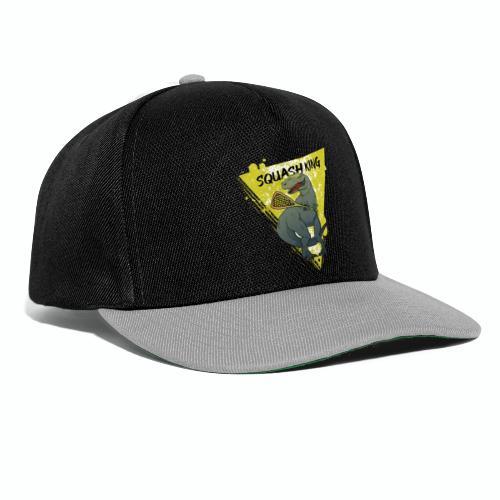 squash king - Snapback Cap