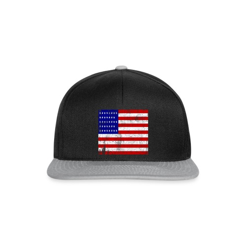 funny american flag mask - Casquette snapback