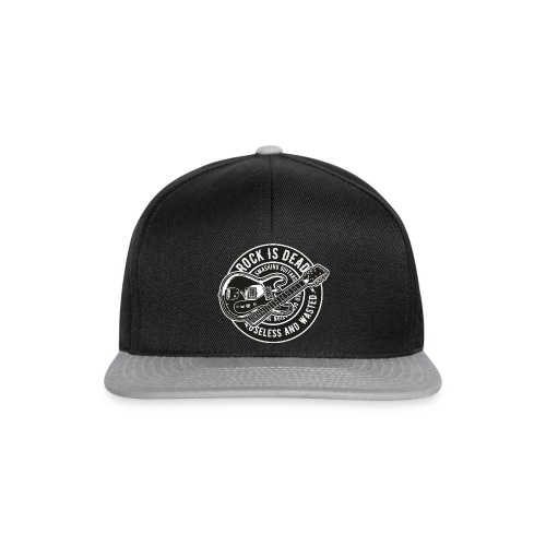 Rock Is Dead - Snapback cap