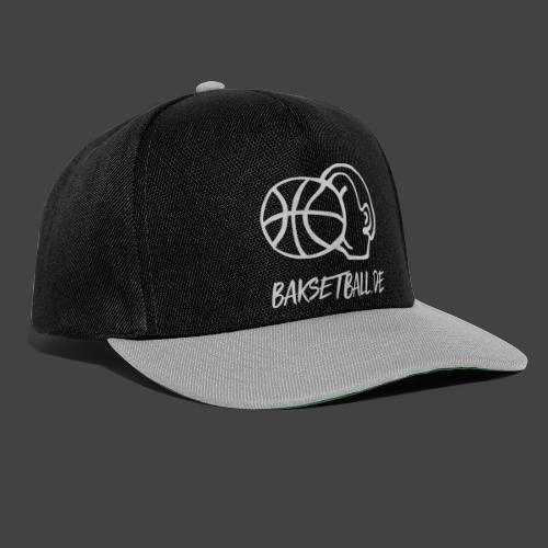 BAKSETBALL LOGO GREY - Snapback Cap