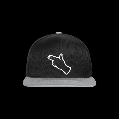 Gunfingers White - Snapback Cap