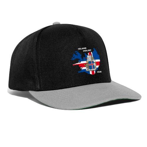 Island Iceland Holiday Urlaub - Snapback Cap