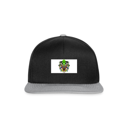 Colorful skull - Snapback Cap