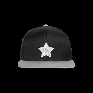 PAS Star greys bg light grey - Snapback Cap