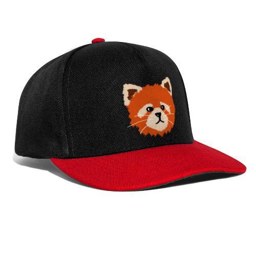 Amanda the red panda - Snapback Cap