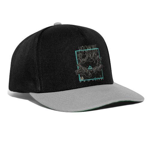 Hochkoenig Contour Lines - Square - Snapback Cap