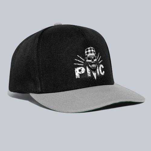 PMC Skull white - Snapback Cap