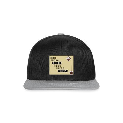Coffee Champion - Snapback Cap