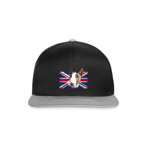 Bullterrier UK grunge Flag - Snapback Cap