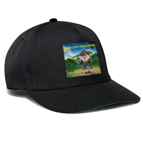 Never mess with a Hedgehog - Snapback Cap