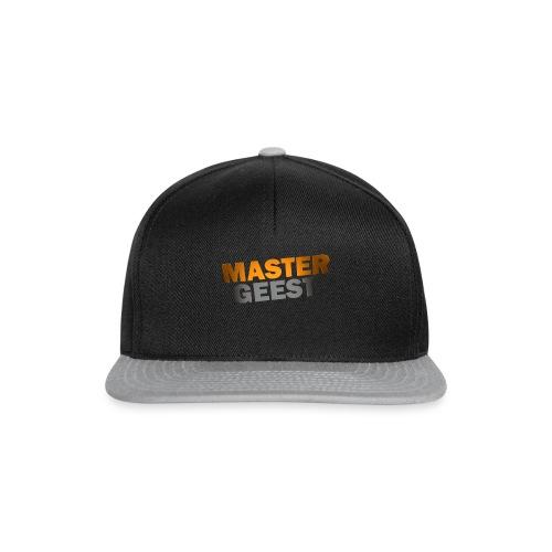 Mastergeest T-Shirt met lange mouwen - Snapback cap