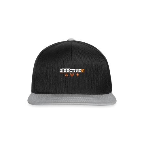 D51recy png - Casquette snapback