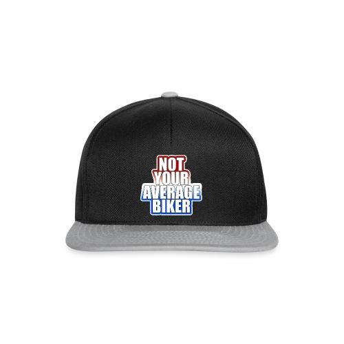 NotYourAverageBiker Hoodie BigWhite BACK logo - Snapback cap